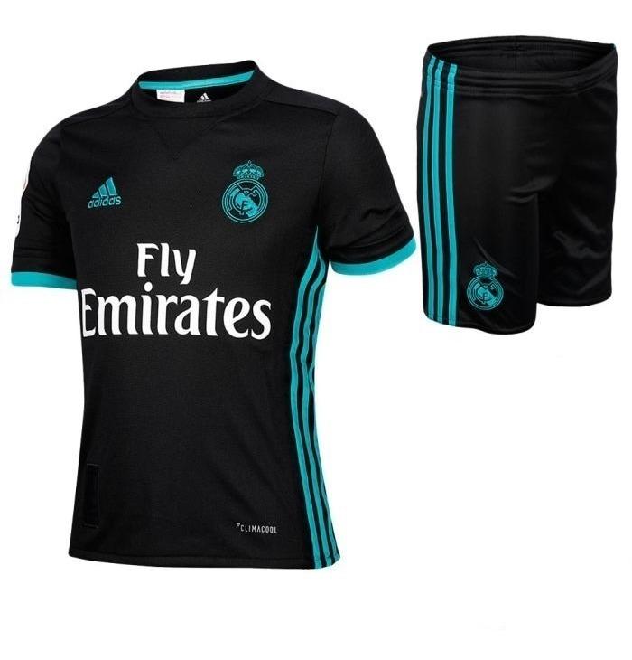 pretty nice 70c3e decbe Kit Camiseta + Short Real Madrid Ronaldo Niño Nene 2017 2018