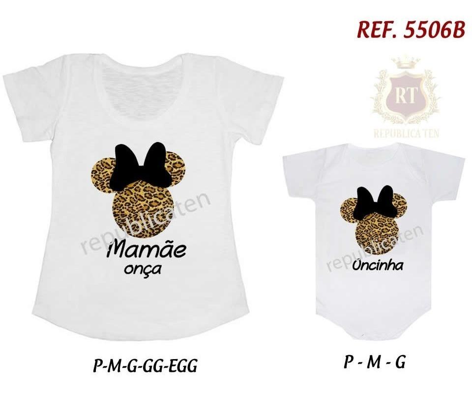 4841b44810f3a2 Kit Camiseta T-shirt + Body Tal Mãe Tal Filha(o) Loading...