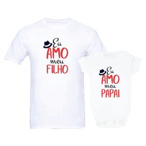 fd5b6de7b4bd Camisetas Tal Pai Tal Filho Meu Filho Me Completa - Calçados, Roupas e  Bolsas com o Melhores Preços no Mercado Livre Brasil
