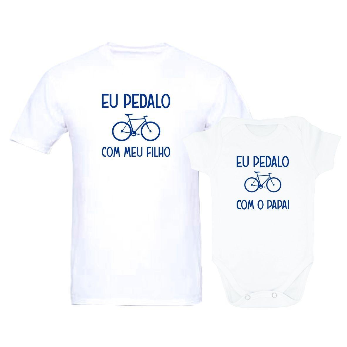dd3622869 kit camiseta tal pai tal filho(a) body pedalo com o papai. Carregando zoom.
