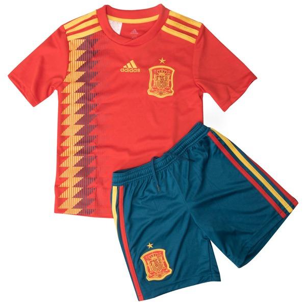 0548a2ba31ec4 Kit Camiseta Y Short De La Seleccion De España 2018 De Niño -   899 ...