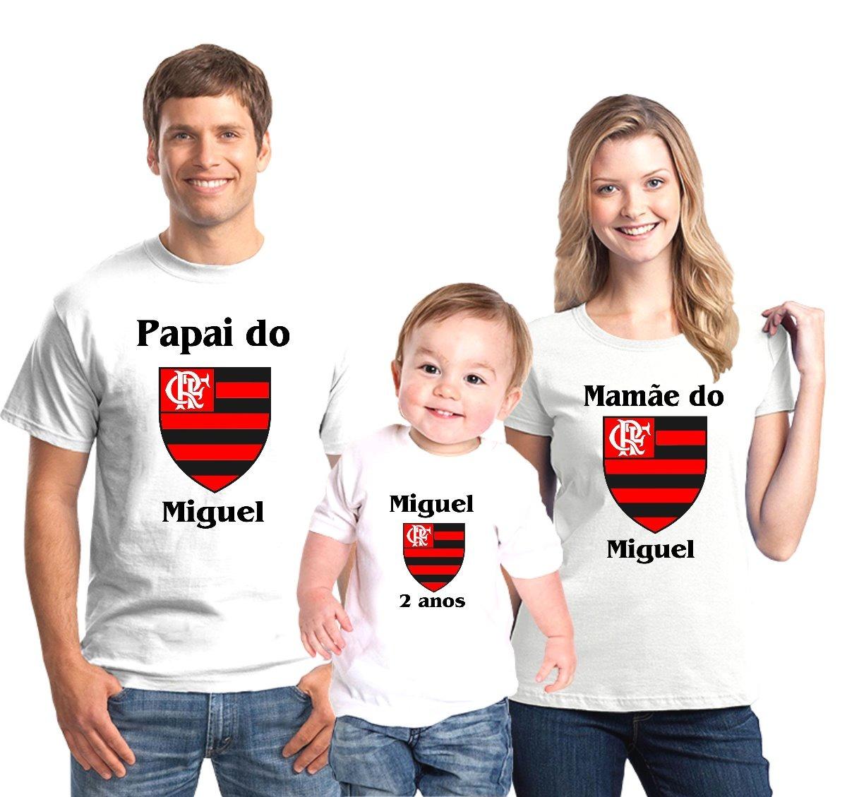 8a5472f8f028a kit camisetas aniversário flamengo time personalizada c/4. Carregando zoom.