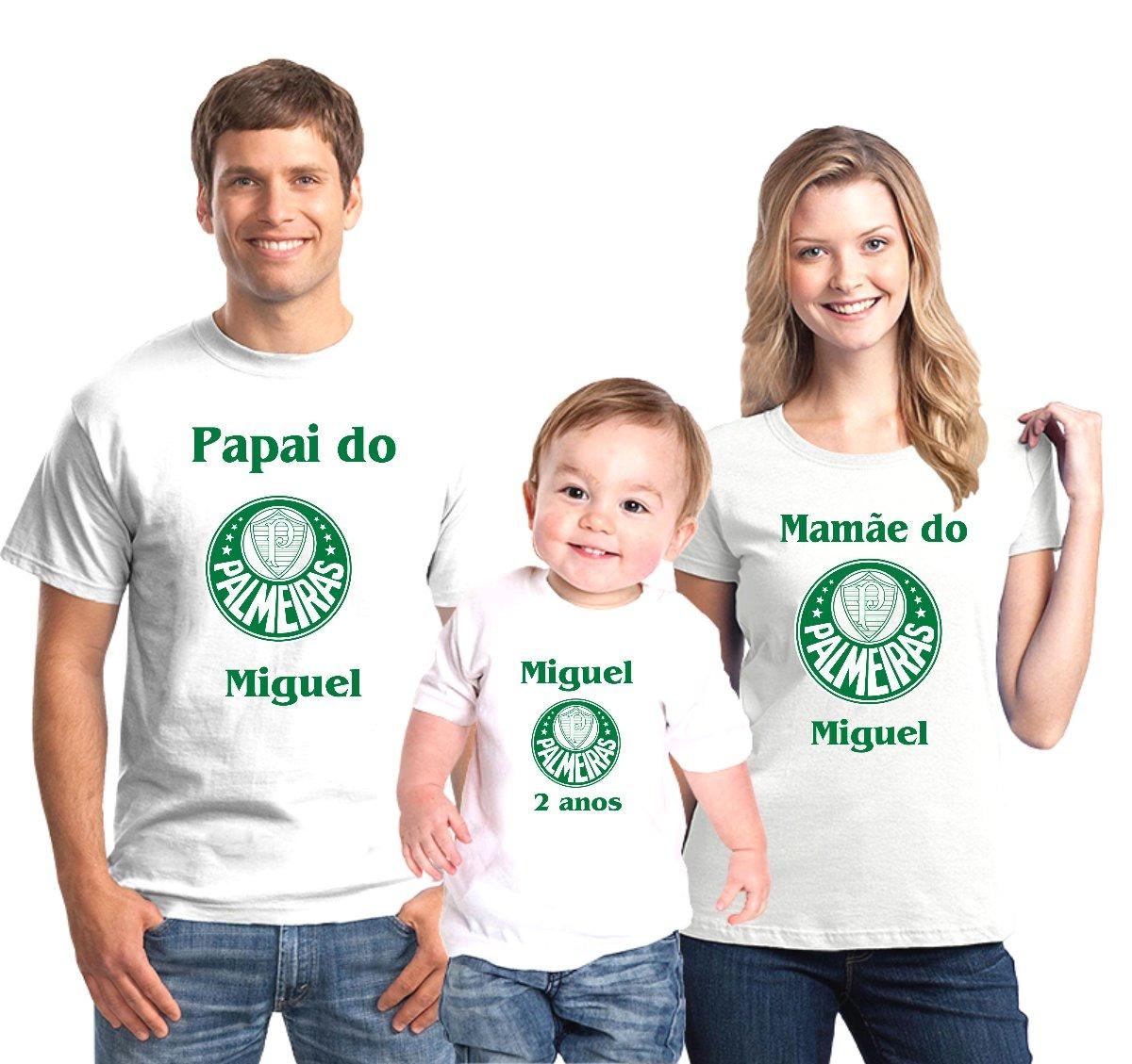 a71989787a699 kit camisetas aniversário palmeiras time personalizada c 3. Carregando zoom.