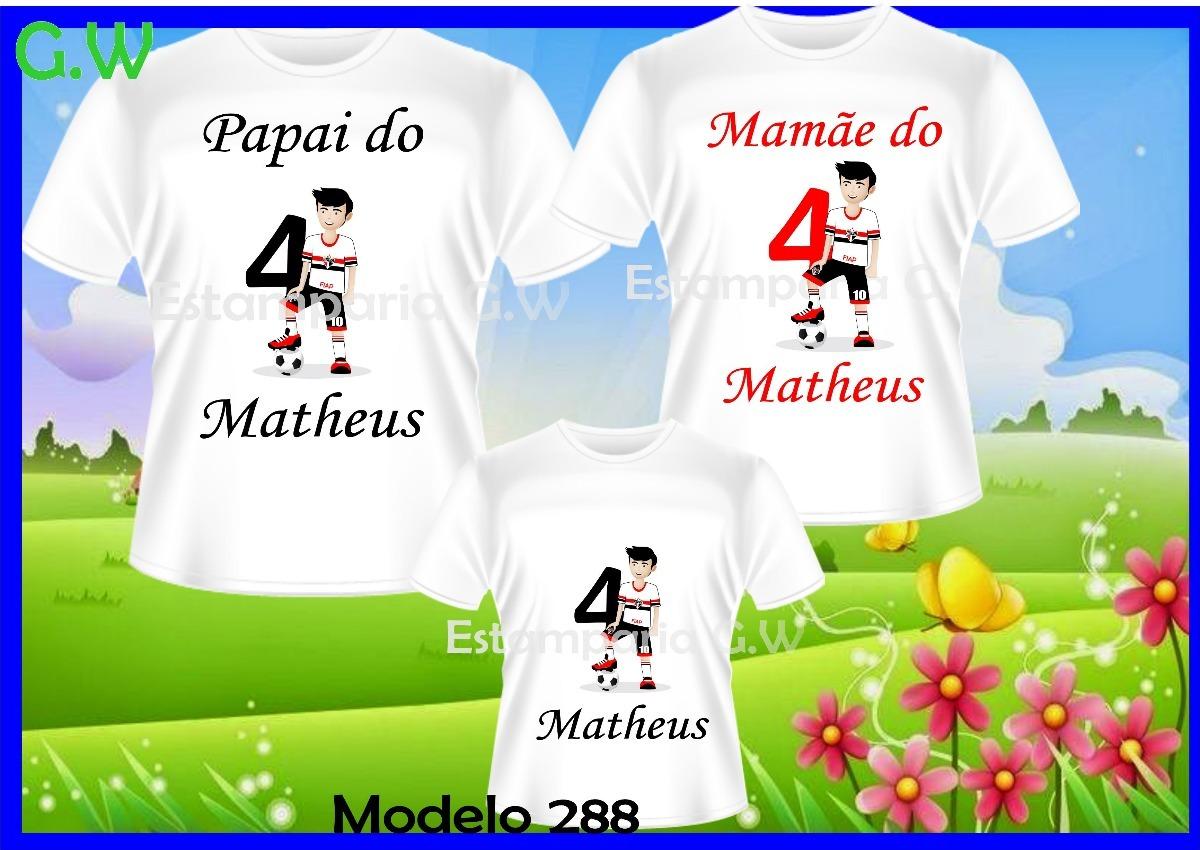 9d8a8121eb0c6 kit camisetas aniversário personalizadas time promoção c 3. Carregando zoom.