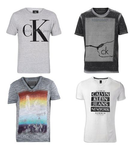kit camisetas blusa camisa 15 peças masculina atacado