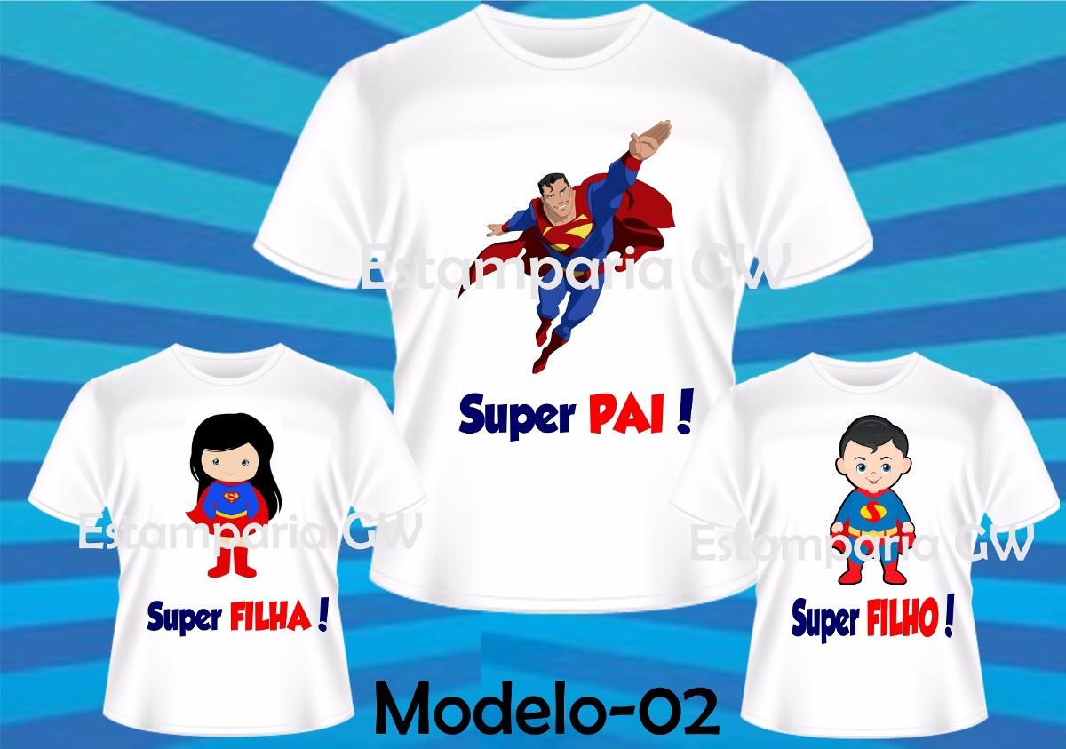 Kit Camisetas Dia Dos Pais Tal Pai Tal Filhoa Herois C3