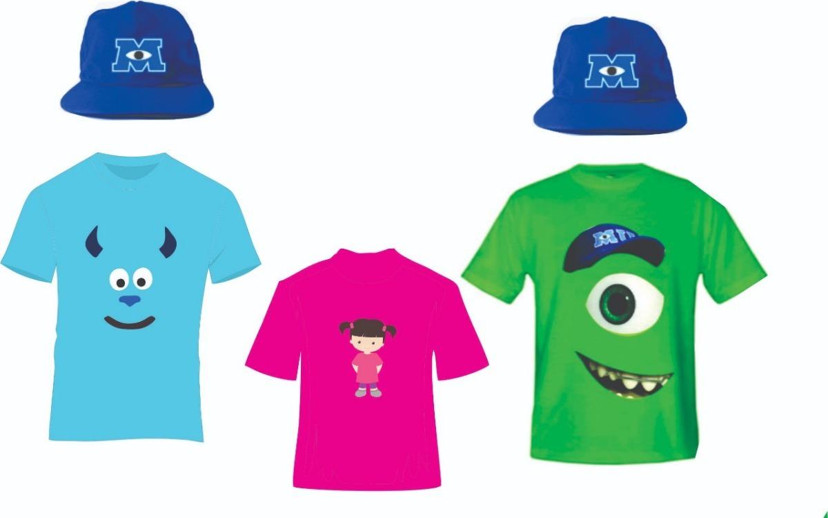 e934e2836190d kit camisetas fantasias bonés monstros sa mike-sullivan-boo. Carregando  zoom.