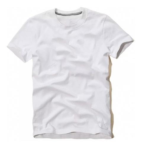 kit camisetas masculinas c/ 6 unidades atacado algodão 30.1