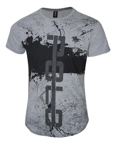 kit camisetas masculinas  estampadas polo rg518