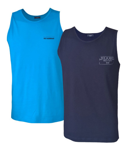 kit camisetas masculinas regata masculina