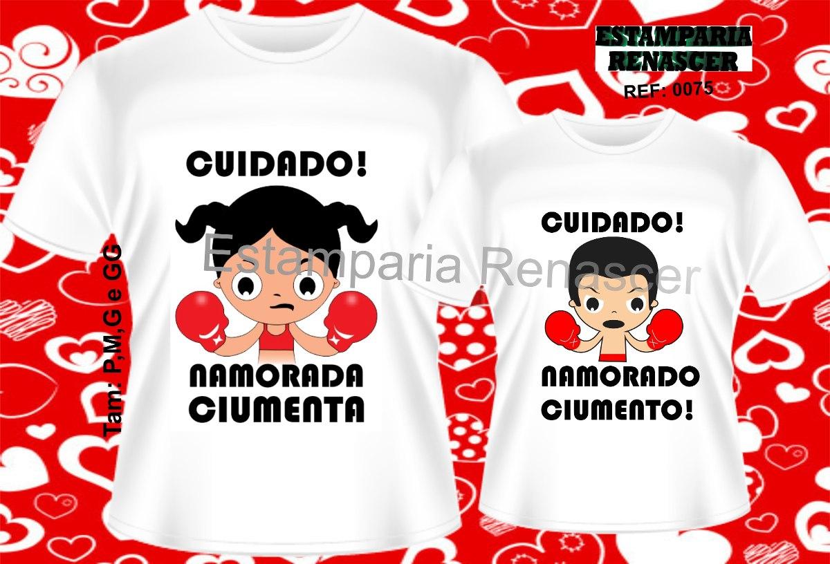 kit camisetas namorados camisas estampadas personalizadas. Carregando zoom. 361d2227e99