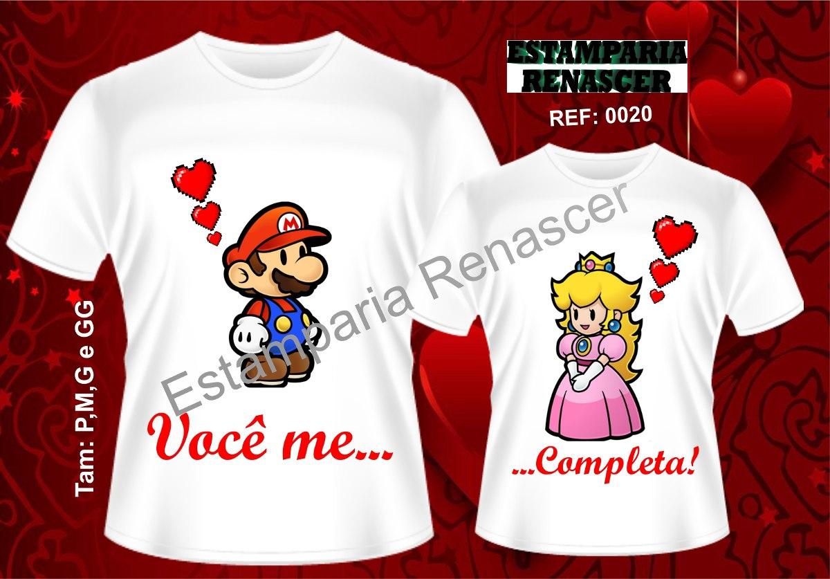 Desenho De Camisa: Kit Camisetas Namorados Camisas Estampadas/personalizadas
