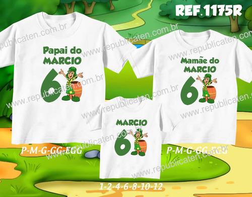 kit camisetas personalizadas aniversário turma do chaves