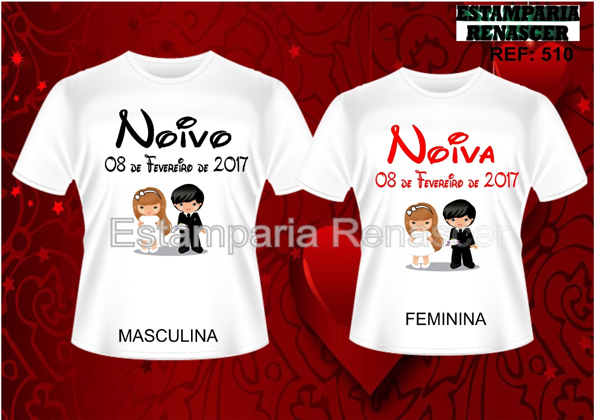 50402481b Kit Camisetas Personalizadas Dia Dos Namorados