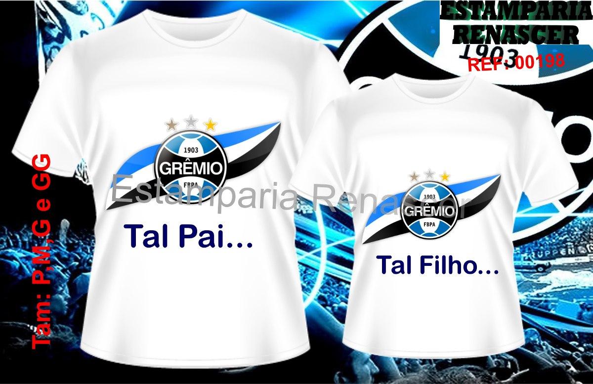 kit camisetas personalizadas dia dos pais tal pai tal filho. Carregando  zoom. 9d72d4be175c1
