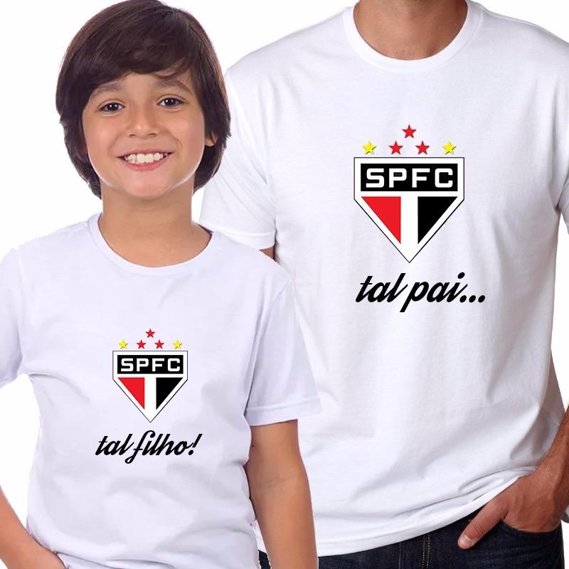 1e32c145d kit camisetas personalizadas são paulo (pai e filho). Carregando zoom.