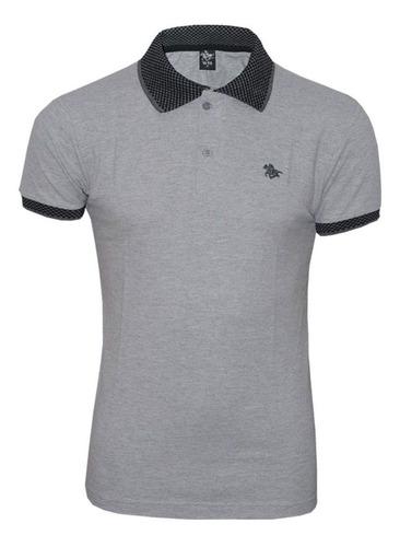 kit camisetas polo  cavalo em metal