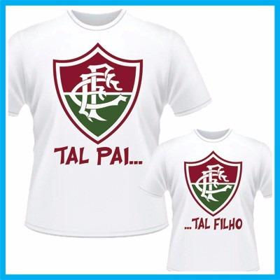 b40c489f86 Kit Camisetas Tal Pai Tal Filho Fluminense