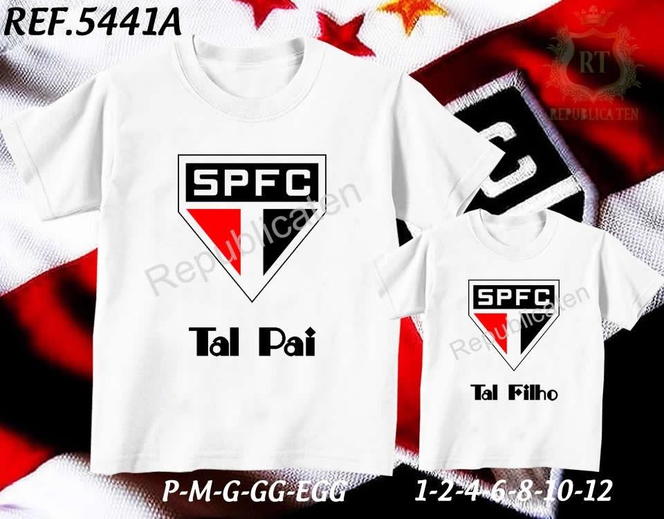 Kit Camisetas Tal Pai Tal Filho Times- Palmeiras São Paulo - R  59 ... a7ec41ed52f3b