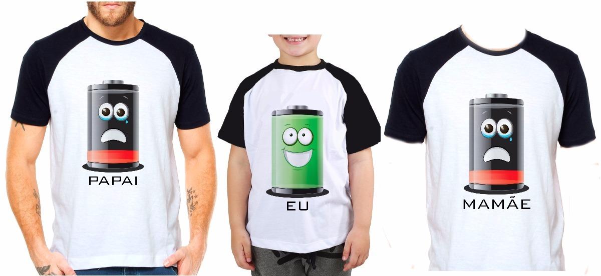 b5bae4684ebb67 Kit Camisetas Tal Pai Tal Mãe Tal Filho Filha Bateria