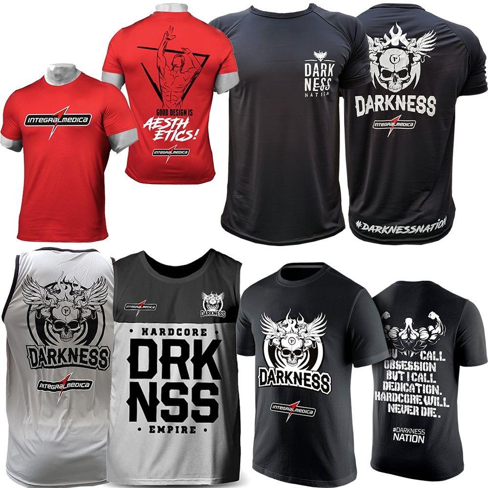 kit camisetas todos modelos top integralmedica darkness. Carregando zoom. 9727fdbcd280a
