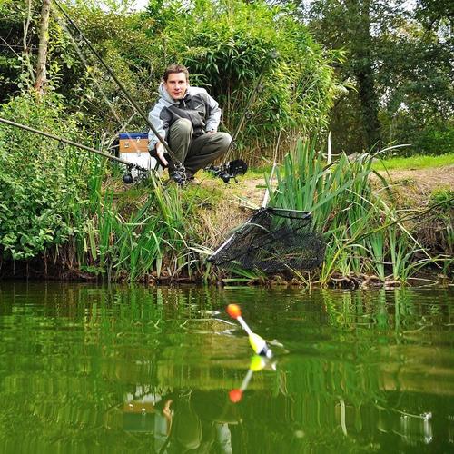 kit caña pesca essential predator 350 original practico