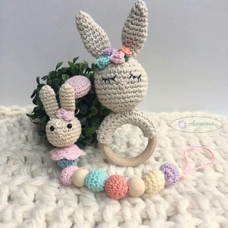 Kit para decoração de quarto de bebê Amigurumi 05 itens no Elo7 ... | 960x960