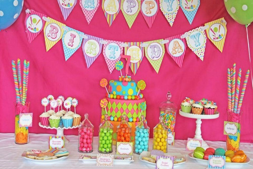 kit candy bar plantillas golosinas