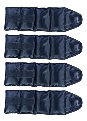 kit caneleira de peso tornozeleira 1 par 1kg 1 par 2 kgs