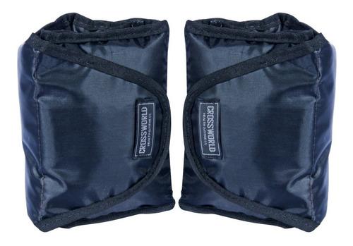 kit caneleira de peso tornozeleira 1 par 3kg 1 par 4 kgs