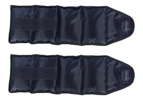 kit caneleira de peso tornozeleira 3 pares 1,2 e 3 kgs