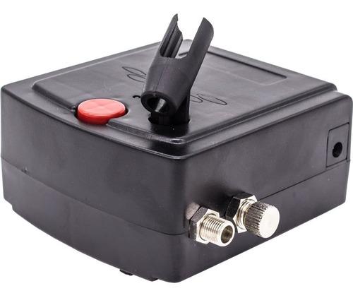 kit caneta aerógrafo mini compressor profissional aerografia
