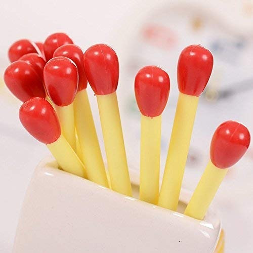 kit caneta fósforo fogo palito brinde festa esferográfica 10