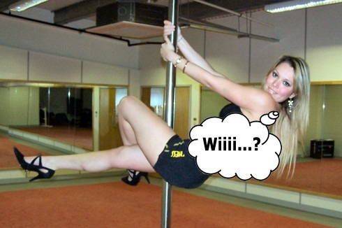 kit caño pole dance profesional 2,7mt peekaboo