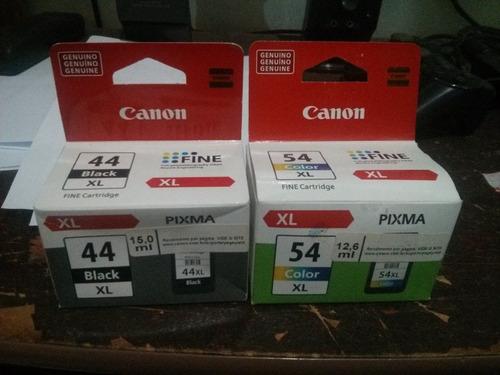 kit canon cartuchos  44xl e 54xl  originais