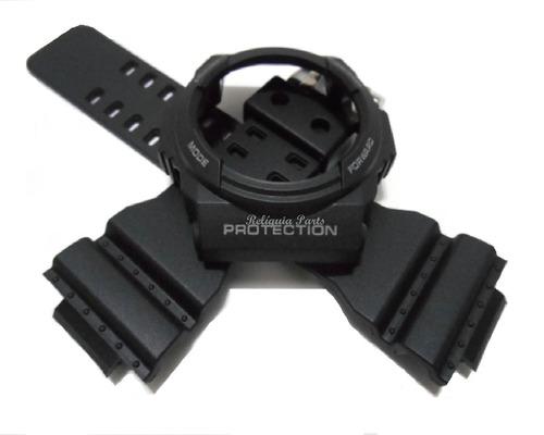 kit capa bezel + pulseira p/ casio ga-150 glx-150 g-shock