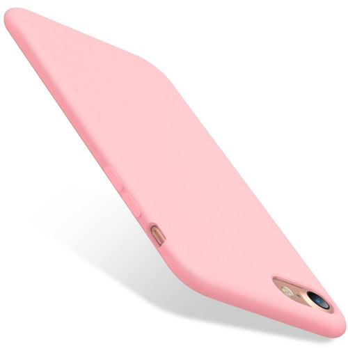 kit capa capinha ultra slim fosca iphone 7 e 8 4.7 + vidro