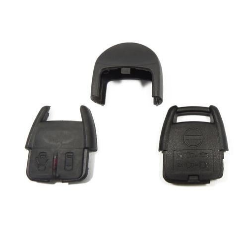 kit capa chave telecomando + chifre + contracapa s10 blazer