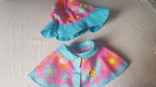 kit capa de chuva baby alice original
