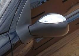kit capa maçaneta  retrovisor cromado peugeot 206 207 4 port