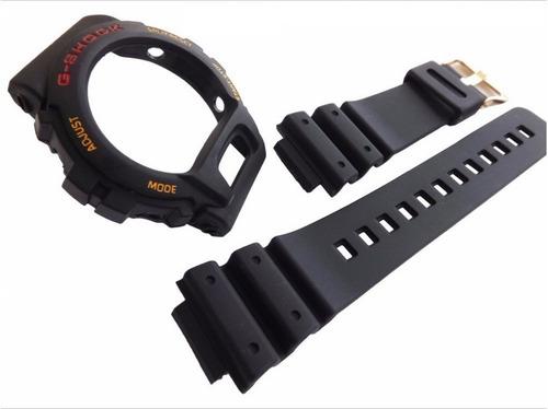 kit capa pulseira casio g-shock dw-6600 dw-6900 iluminator