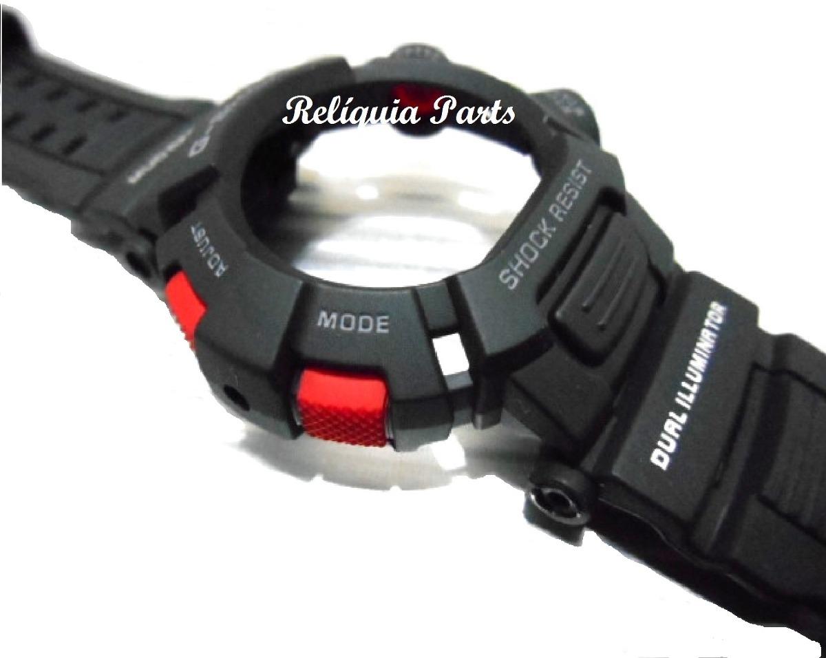 be481a038bd Kit Capa Pulseira Casio G-shock Mudman G-9000 G 9010 Moderno - R ...