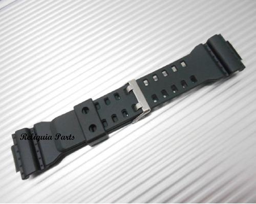 kit capa pulseira casio gr-8900 g-8900 g-shock preto fosco