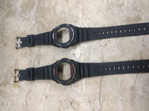 kit capa / pulseira g-shock dw 5400, dw 5700, rosca , bezel