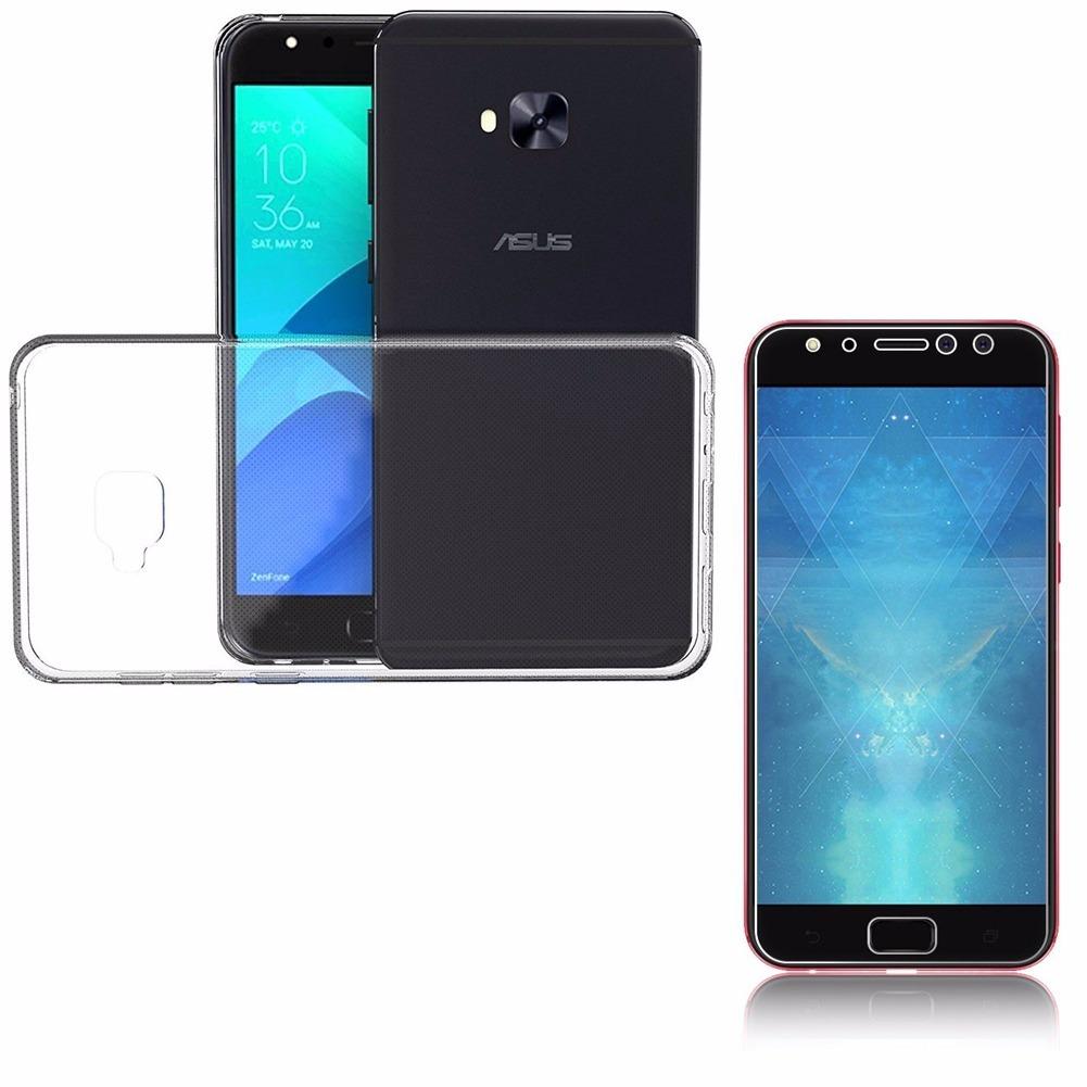 f0205b908 kit capa transparente zenfone 4 selfie pro zd552kl + pel gel. Carregando  zoom.