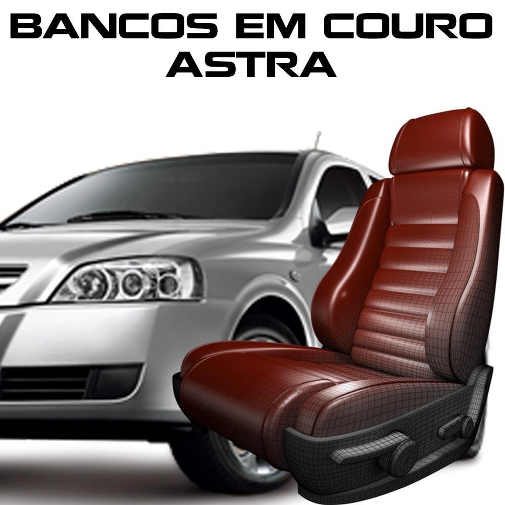 Kit Capas Banco De Couro Astra - Peças Astra Couro Astra