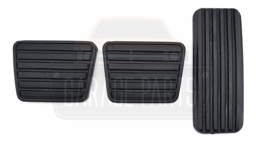 kit capas pedal acelerador freio embreagem s10 blazer até 11