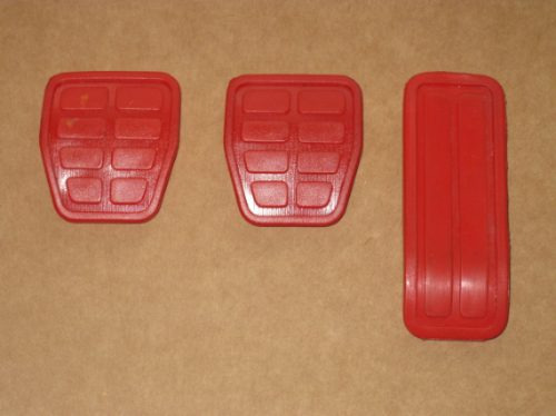 kit capas pedal gol voyage parati saveiro 84/ - g1 g2 g3 g4