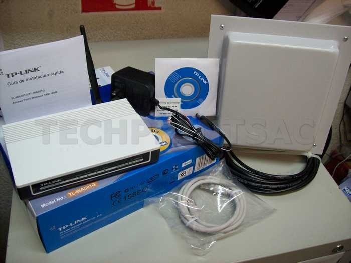kit captura wifi 3 km cliente internet + panel 15 dbi 10 mt