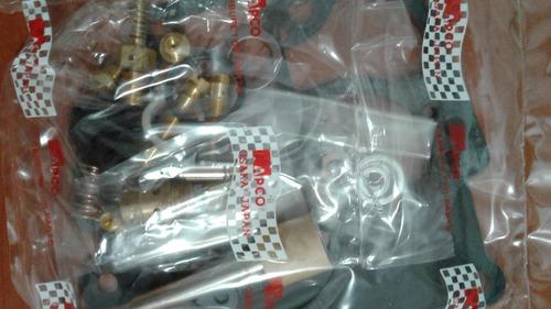 kit carburador corolla ávila japonés inyector de cuero